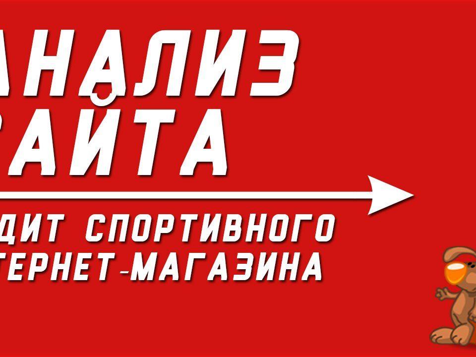 Аудит спортивного интернет-магазина