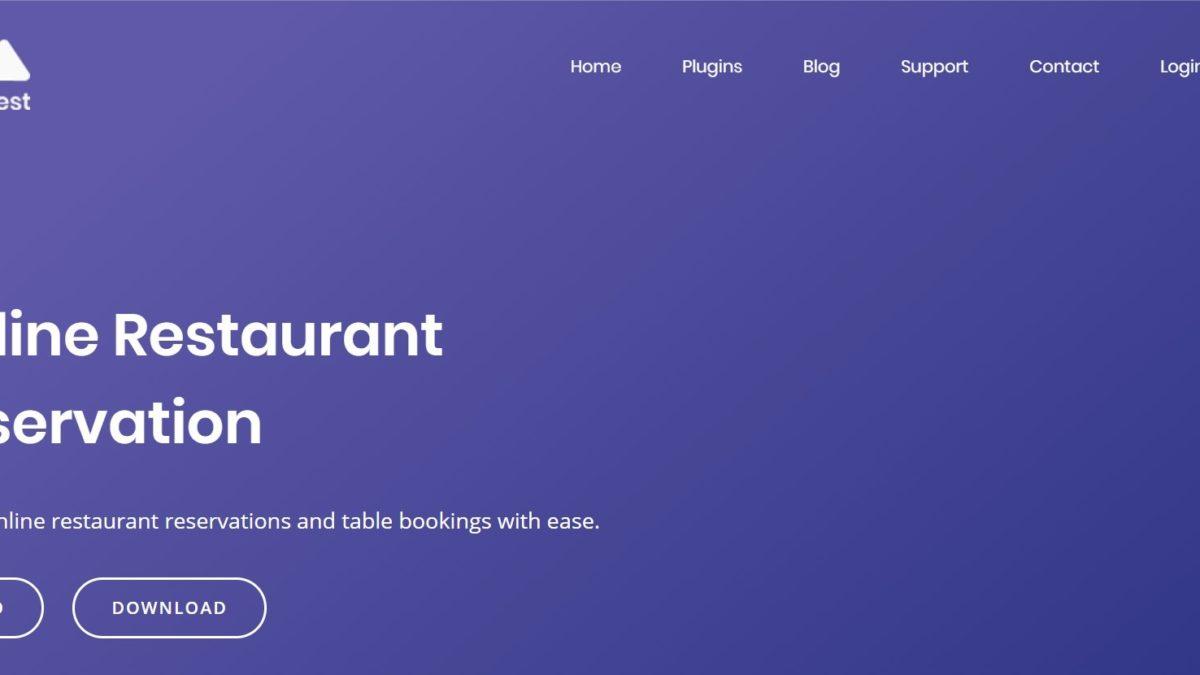 Плагины бронирования для ресторанов