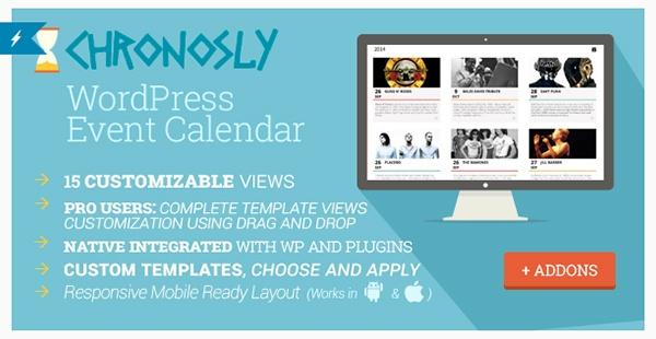 Chronosly Event Calendar