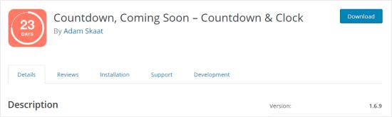 Countdown Builder