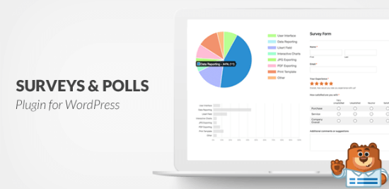 WPForms: Survey and Polls Addon