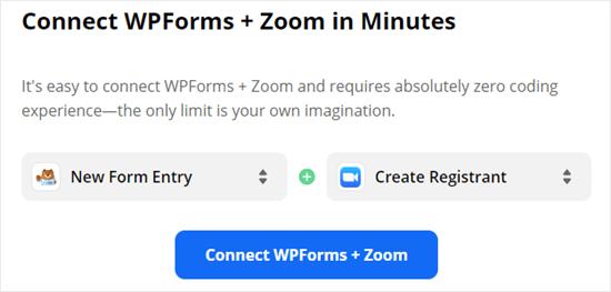 zapier connect wpforms.