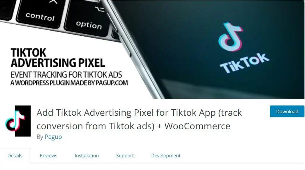 TikTok Advertising Pixel