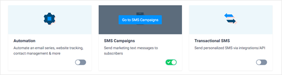 SMS Campaigns app