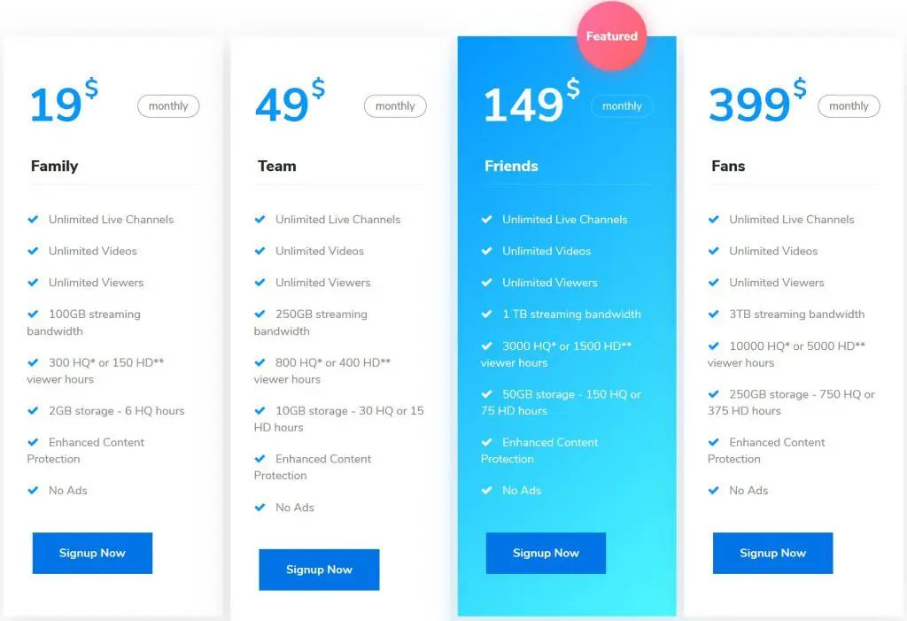 wpstream pricing