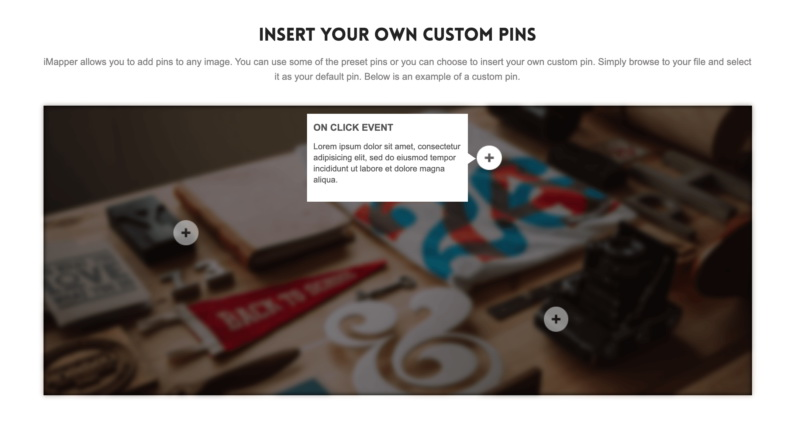 upload your own custom pin