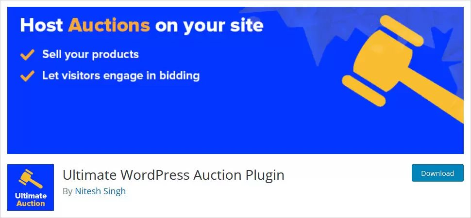 Ultimate WordPress Auction