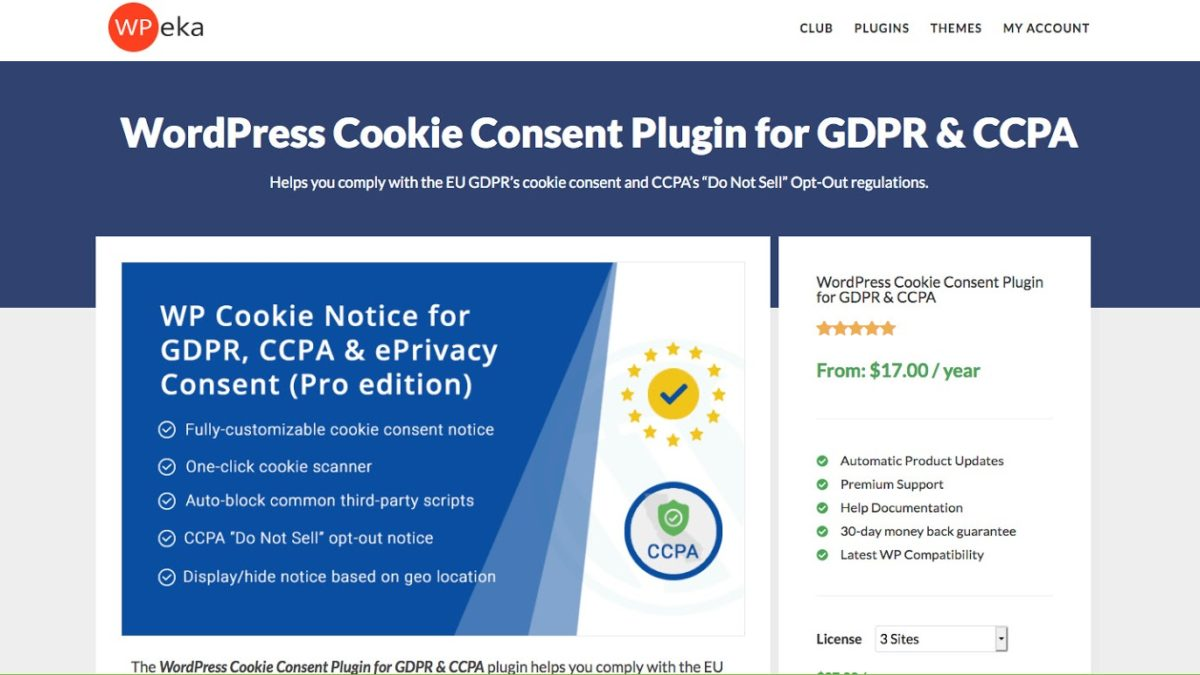 WP Cookie Consent