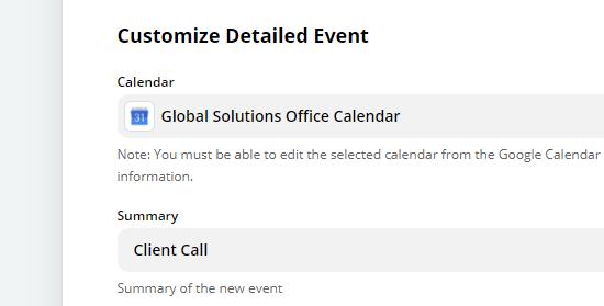 enter event