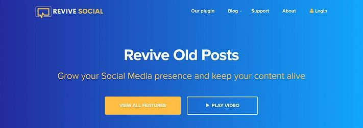 Revive Old Posts