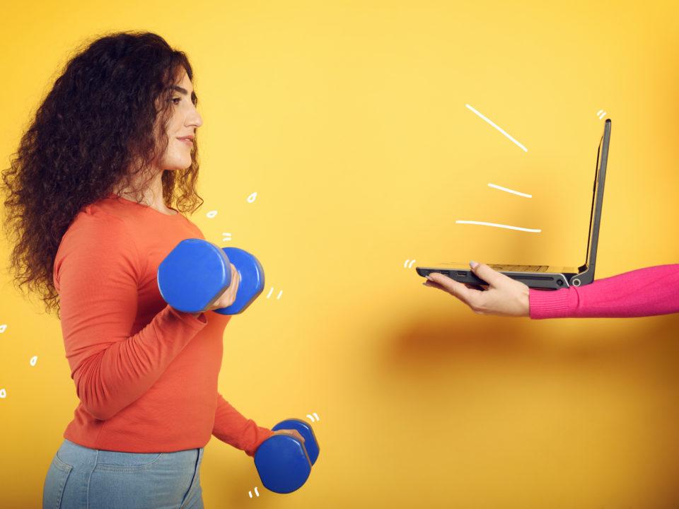 Фитнес тренер онлайн