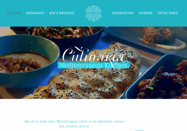 Culinaria Mediterranean Kitchen
