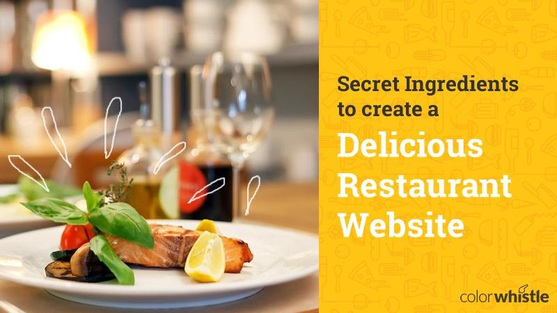 Как создать сайт ресторана