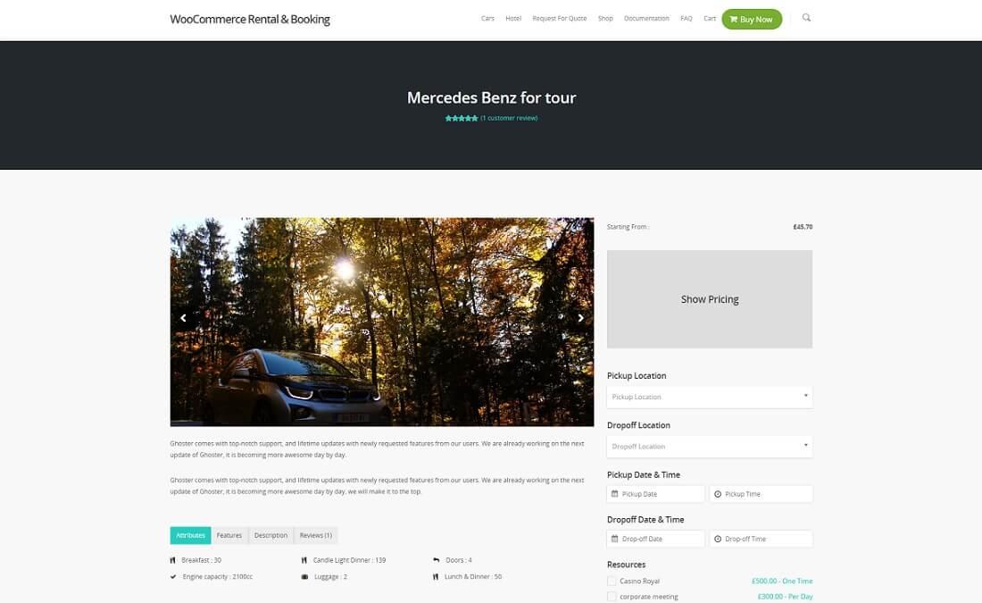 RnB – WooCommerce Rental & Bookings System