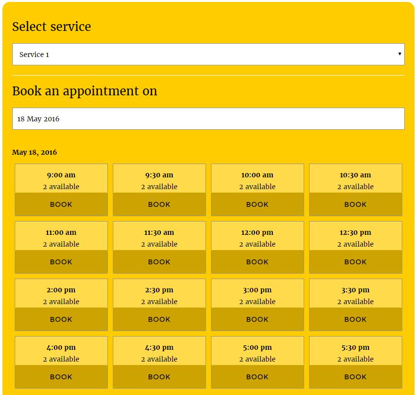 Webba Booking Lite