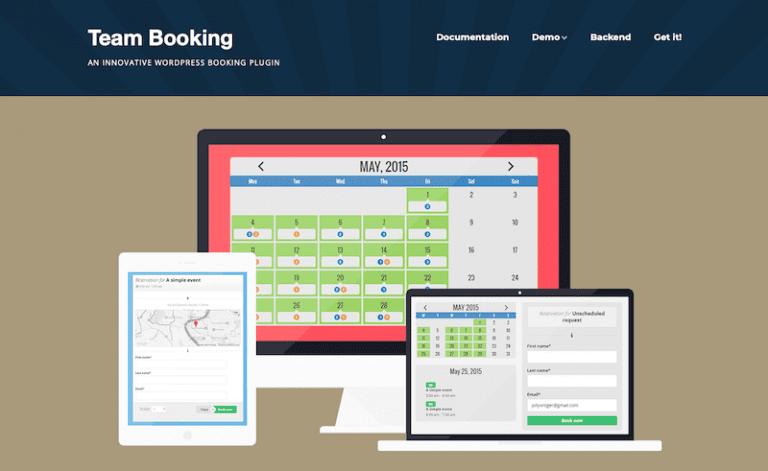 Team Booking1