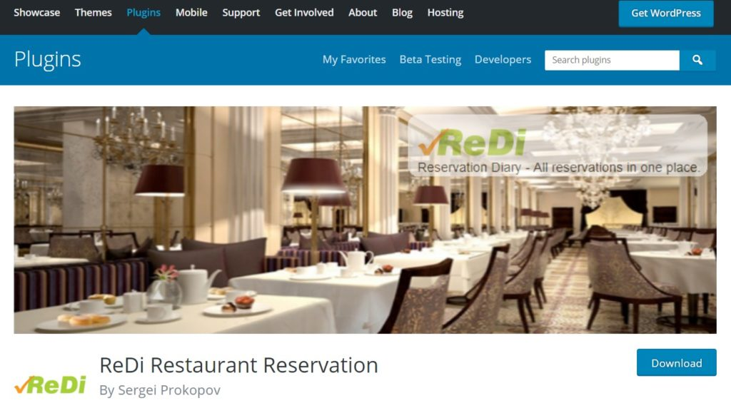 ReDi Restaurant Reservation